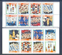 EYNHALLOW SHEET PERFORED + IMPERFORED + ERROR  CHESS  MNH - Altri