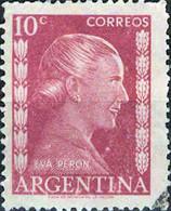 3935 Mi.Nr. 593 Argentinien (1952) Eva Perón (1919-1952), Politician Gestempelt - Gebruikt