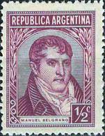 3936b Mi.Nr. 399 Argentinien (1943) General Manuel Belgrano (1770-1820) Ungebraucht - Gebruikt