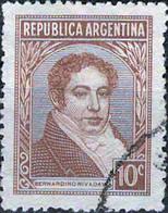 3937 Mi.Nr. 412 Argentinien (1942) Bernardino Rivadavia (1780~1845) Gestempelt - Gebruikt