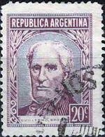 3939 Mi.Nr.648 Argentinien (1956) Guillermo Brown (1777~1857) Gestempelt - Gebruikt