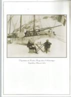 JZ / Rare MENU EXPEDITION ANTARCTIQUE  Charcot Dégustation CHAMPAGNE CORDON ROUGE MUM 1904 Le Pourquoi Pas - Menus