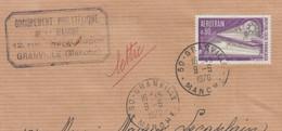 AEROTRAIN  80c Y.T.1631   SEUL Sur Enveloppe De 50 GRANVILLE  Postée Le 9 6 1970  Pour 53 MAYENNE - 1961-....