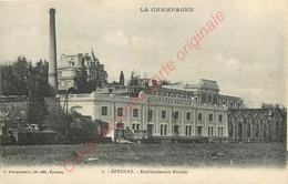 51.  EPERNAY .  Etablissements Mercier .  ( Champagne ) . - Epernay