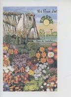 Etretat 2009 Fête De La Terre Foire Fleurs Potager Jardin Atelier Planète Rouletaboule Bidulistes Bénouville Blason Coqu - Etretat