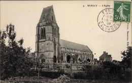 CPA Évrecy Calvados, L'Eglise - Altri Comuni