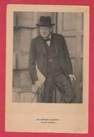 WW2 - Sir Wiston Churchill- Premier Ministre Britannique - 1945 ( Voir Verso ) - War 1939-45