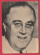 WW2 - Les Alliés - Franklin D. Roosevelt  - Président  USA ( Voir Verso ) - War 1939-45