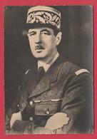 WW2 - Les Alliés - Général De Gaulle  - France ( Voir Verso ) - War 1939-45