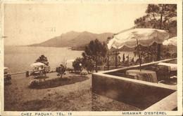 9886 CPA Miramar D'Esterel - Chez Paquay Tél 13 - Otros Municipios