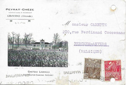 [33] Gironde > Libourne Peyrat Cheze Proprietaire Negociant Chateau Lagraula St Sulpice Et Cameyrac - Libourne