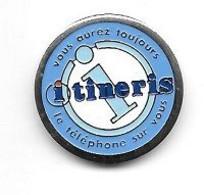 Jeton De Caddie  Ville, ITINERIS  Verso  France  Télécom  Agence  Commerciale  Bordeaux  Pins  ( 33 ) Recto  Verso - Einkaufswagen-Chips (EKW)