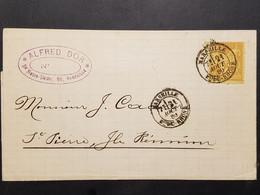 FRANCE REUNION Lettre De Marseille Pour St-Denis – 21 Août 1880 - Briefe U. Dokumente
