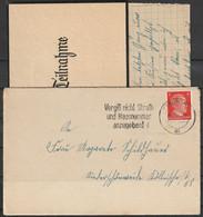 Duitse Rijk Brief Uit 1944 Berlin N4 Ac Met Inhoud / Opruiming, Clearance Sale, Déstockage. - Briefe U. Dokumente