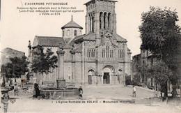 [63] Puy-de-Dôme > Volvic Eglise Romane - Volvic