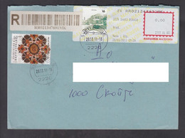 REPUBLIC OF MACEDONIA, COVER, MICHEL 343, 577 - Folklore, Towns, Geography + - Macedonia