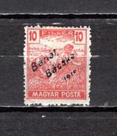 Hungría  (Banat-Bacska)  1919 .-   Y&T  Nº   37 - Banat-Bacska
