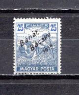 Hungría  (Banat-Bacska)  1919 .-   Y&T  Nº   39 - Banat-Bacska