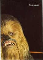 Thèmes. Spectacle. Cinema. Star Wars Chewbacca Carte Postale Orange - Ohne Zuordnung