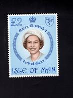 1323577579 1981 SCOTT 200 (XX) 6OSTFRIS  MINT NEVER HINGED EINWANDFREI  (XX) - QUEEN ELIZABETH II - Isla De Man