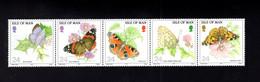 1323580327 1993 SCOTT 571A (XX) 6OSTFRIS  MINT NEVER HINGED EINWANDFREI  (XX) - BUTTERFLIES - Isla De Man