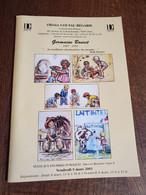 Germaine Bouret, Catalogue De Vente 2001. - Programmi