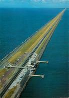 CPSM Afsluitdijk-La Digue-Timbre        L813 - Non Classificati