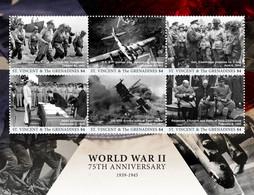 Saint Vincent & The Grenadines 2017 World War II ,Stalin ,  Franklin Roosevelt, Winston Churchill - St.Vincent & Grenadines