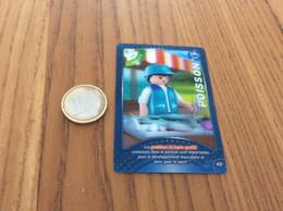 "Carte Playmobil 2021 Geobra ""N°45 - POISSON"" 3D - Other"