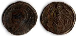 VILLE DE CONTANTINOPLE  VICTOIRE SUR UNE PROUE DE VAISSEAU - 7. El Impero Christiano (307 / 363)