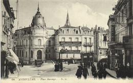 ANGOULEME  Place MarengoAnnimée Grande Epicerie Parisienne Felix Potin RV - Angouleme