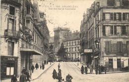 ANGOULEME Rue Des Halles Centrales Animée RV - Angouleme