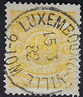 Luxembourg - Luxemburg - Timbre 1875   5C.  °  Michel 30 - 1859-1880 Armoiries