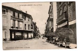 Saint Vallier Sur Rhone , Place De L'orme , Imprimerie , Café - Other Municipalities