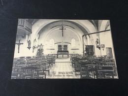CP Ancienne De Villers-la-Ville : Intérieur De L'église (1931) - Villers-la-Ville