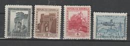 R09 / EDIFIL 770,771,772, Y 769, MNH ** MONUMENTOS Y AUTOGIRO - 1931-50 Nuovi