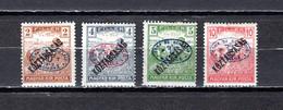 Hungría    ( Debreczen )  1919 .-  Y&T Nº  32-34/35-37 - Debreczen