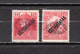 Hungría    ( Debreczen )  1919 .-  Y&T Nº  38/39 - Debreczen