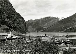 Norvège - Sognefjorden - Parti Fra Flam - Bateaux - CPSM Grand Format - Norge - Norway - CPM - Voir Scans Recto-Verso - Noruega