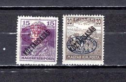 Hungría    ( Debreczen )  1919 .-  Y&T Nº  40-43 - Debreczen