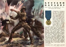 CPA - WW2 WWII Propaganda - MEDAGLIA D'ORO (41) - 164° Battaglione Camicie Nere - Luciano Gavazzi Da Tortona - NV -WN128 - War 1939-45