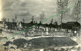 14-18.WWI - Carte Photo Allemande - Friedhof Chamouille Aisne  Frankreich - Guerre 1914-18