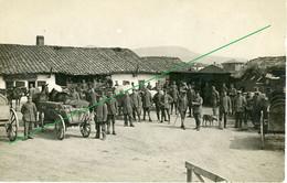 14-18.WWI - Carte Photo Allemande - Soldaten  Soldatenleben - Guerre 1914-18