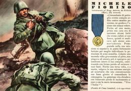 CPA - WW2 WWII Propaganda - MEDAGLIA D'ORO (43) - 37° Reggimento Fanteria - Michele Fiorino Da Molfetta - NV - WN129 - War 1939-45