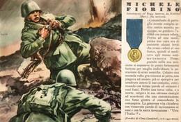 CPA - WW2 WWII Propaganda - MEDAGLIA D'ORO (43) - 37° Reggimento Fanteria - Michele Fiorino Da Molfetta, Bari - WN130 - War 1939-45