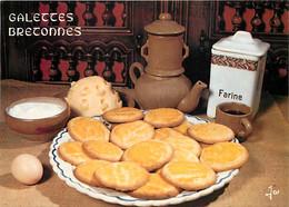 Recettes De Cuisine - Galettes Bretonnes - Carte Neuve - Gastronomie - CPM - Voir Scans Recto-Verso - Recettes (cuisine)