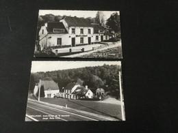 2 CP Anciennes Neuves De Villers-la-Ville : Auberge De La Jeunesse De Chevelipont - Villers-la-Ville