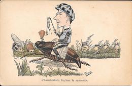 Th - Illustrateur - FREDILLO - Chamberlain Fuyant Le Remards - Other Illustrators