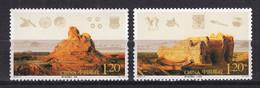 China PR 2010 Mi# 4170-71 Ruins Of Loulan (46x16) - Unused Stamps
