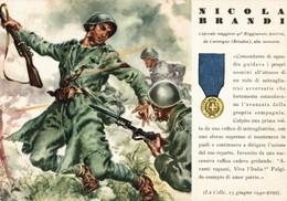 CPA - WW2 WWII Propaganda - MEDAGLIA D'ORO (47) - 90° Reggimento Fanteria - Nicola Brandi Da Carovigno - NV - WN132 - War 1939-45